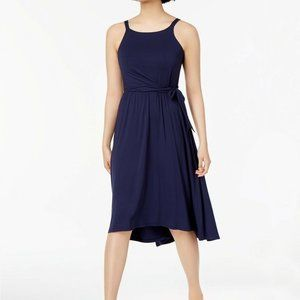 Maison Jules High-Low Fit & Flare Dress